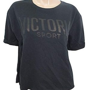 Victoria's Secret Sport Athletic Fleece Tee Top